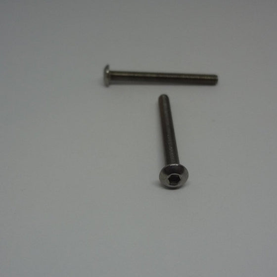Machine Screws, Socket Button Head, Stainless Steel, M3x30mm-Canada Bolts