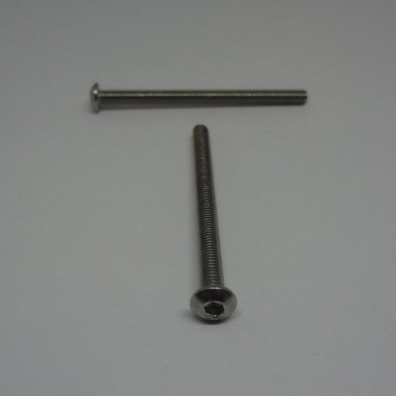 Machine Screws, Socket Button Head, Stainless Steel, M3x40mm-Canada Bolts
