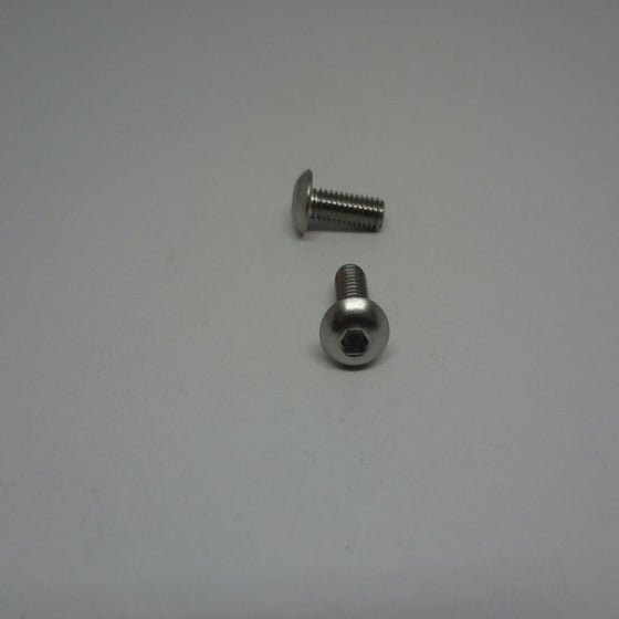 Machine Screws, Socket Button Head, Stainless Steel, M4x10mm-Canada Bolts