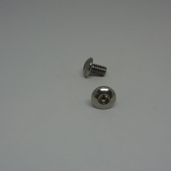 Machine Screws, Socket Button Head, Stainless Steel, M4x6mm-Canada Bolts