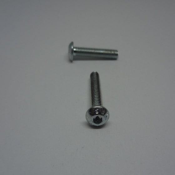Machine Screws, Socket Button Head, Zinc Plated, M4x20mm-Canada Bolts