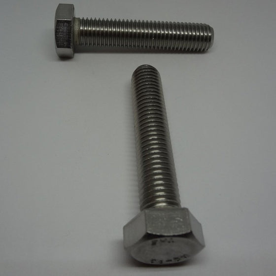 Pk/4 Hex Bolt, Full Thread, Stainless Steel, M14x70mm-Canada Bolts