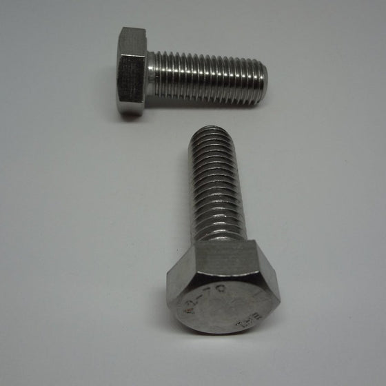 Pk/6 Hex Bolt, Full Thread, Stainless Steel, M14x40mm-Canada Bolts