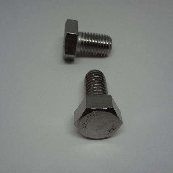 Pk/8 Hex Bolt, Full Thread, Stainless Steel, M14x25mm-Canada Bolts