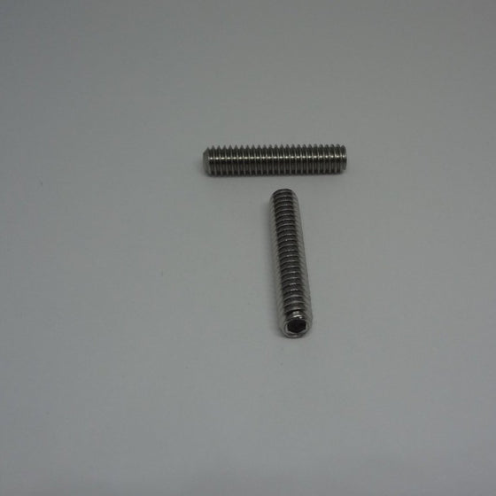 "Socket Screws, Allen Cup Point Set Screws, Stainless Steel, 1/4-20x1 1/4""-Canada Bolts"
