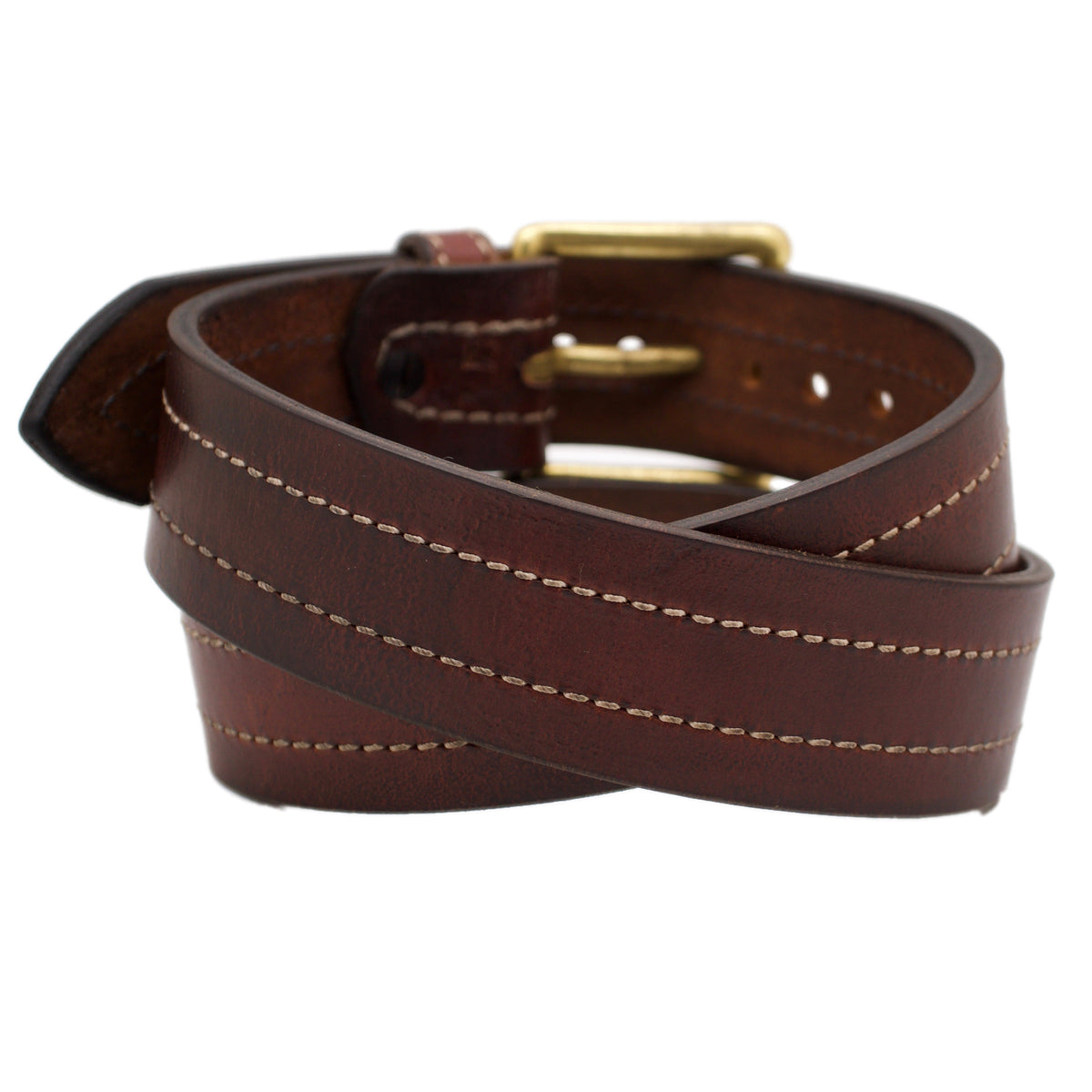 The SEATTLE Wide 1.75 Leather Belt