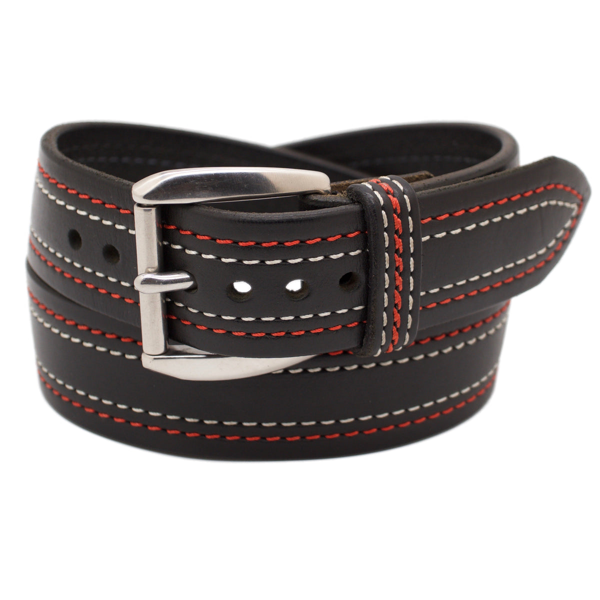 The ENZO WIDE 1.75 Leather Belt