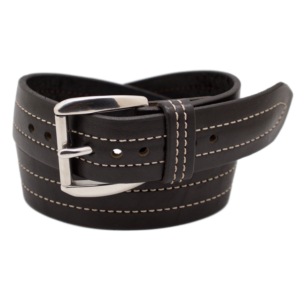 The TROUBADOUR Wide 1.75 Leather Belt