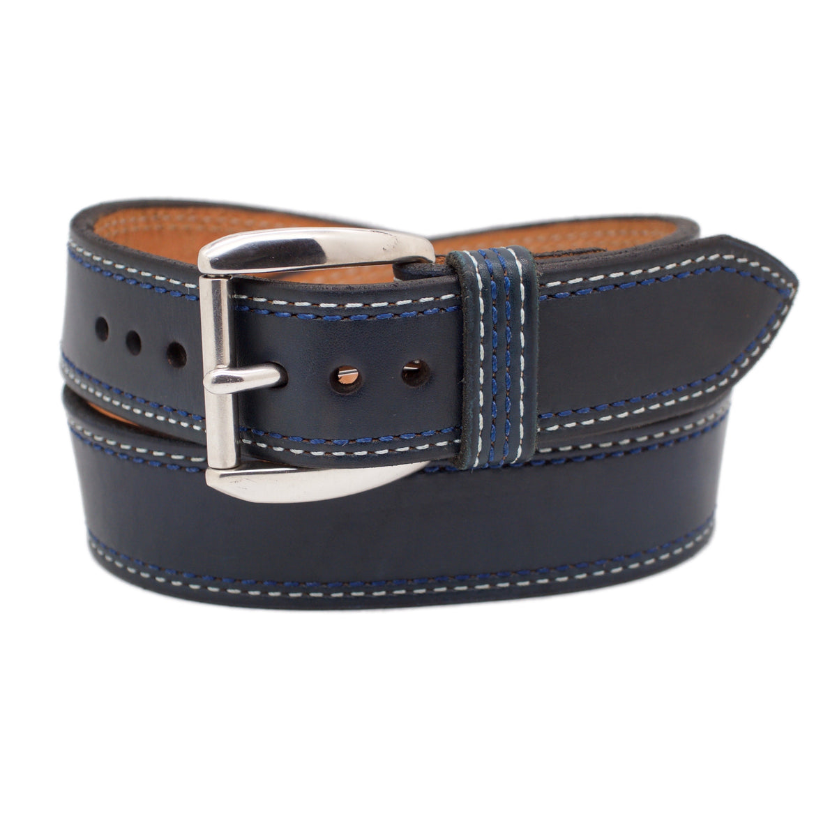 The BLUEBERRY HILL WIDE 1.75 Leather Belt