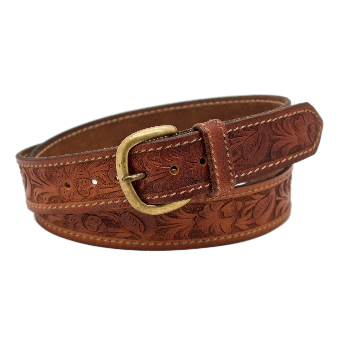 The Santa Anita Western Leather Belt