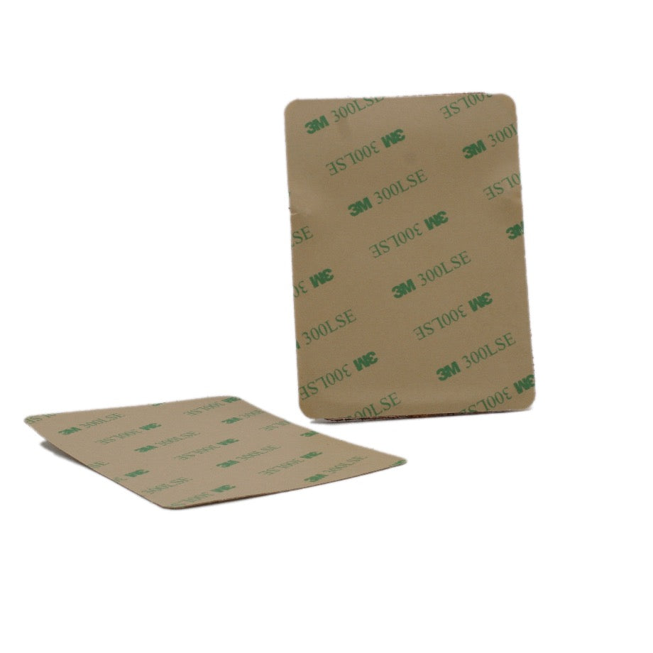Backside of Phone Wallet with 3M® 300LSE adhesive film