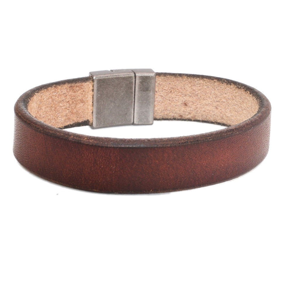 MAHOGANY HARNESS Bespoke Leather Bracelet