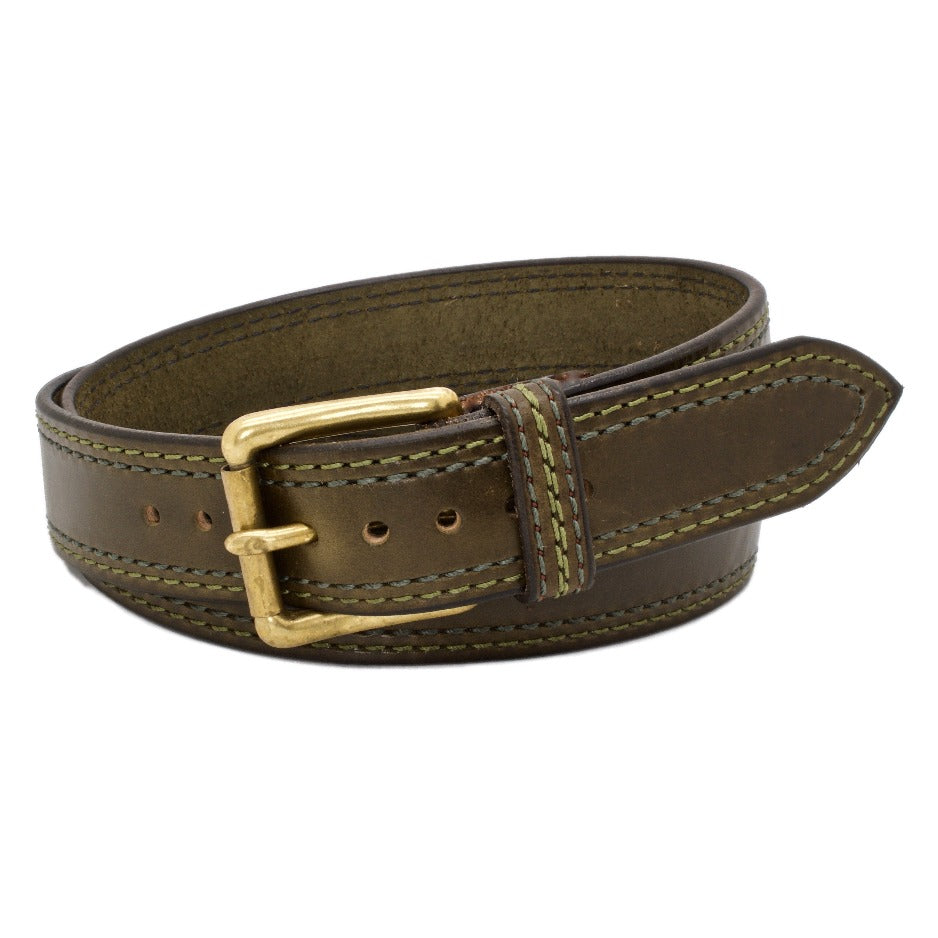 The CEDAR LANE 1.5 Leather Belt