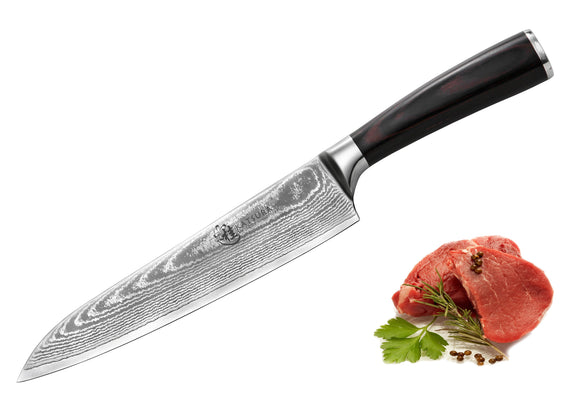 VG-10 Damascus 8-in Gyuto Chef Knife