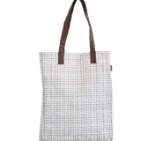 Woven Grey Market Tote