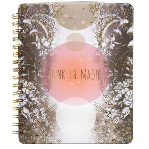 Papaya! Think In Magic Spiral Notebook