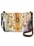 Papaya! Moroccan Peacock Crossbody