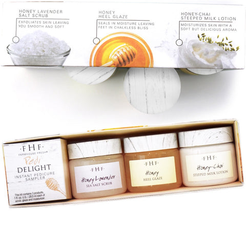 Pedi delight sampler