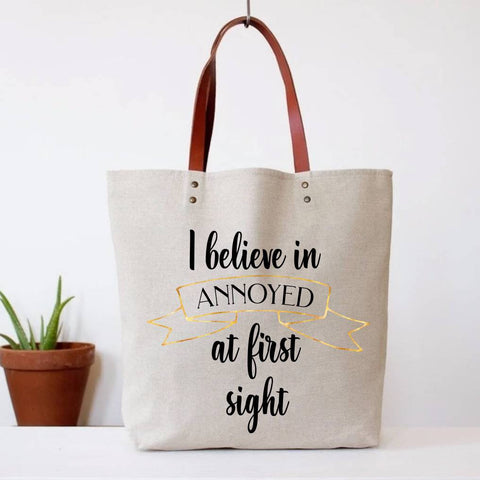 Canvas Fun Tote