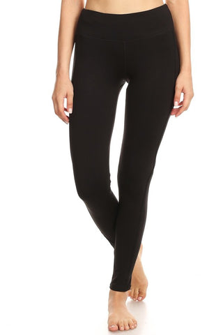 Side design mesh legging