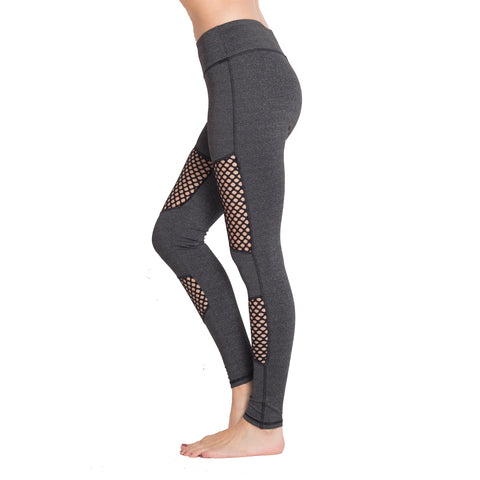 Front mesh workout high performance legging.