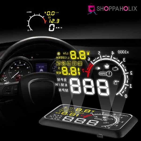 Car HeadUp Display Shoppaholixnew - Car display