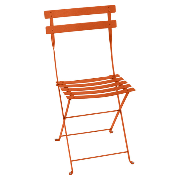METAL BISTRO CHAIR - SET OF 2 -