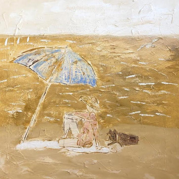 "BLUE UMBRELLA 36"" X 36"""