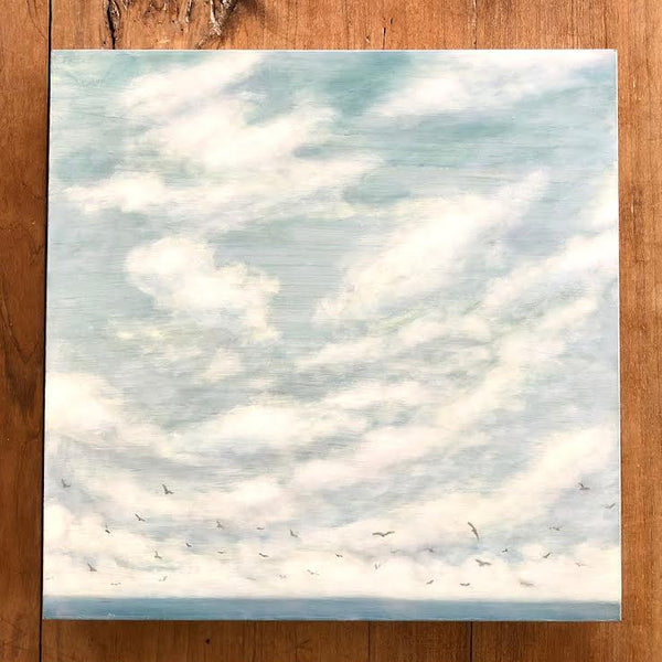 "ABOVE THE FLYING SEA 12"" x 12"""