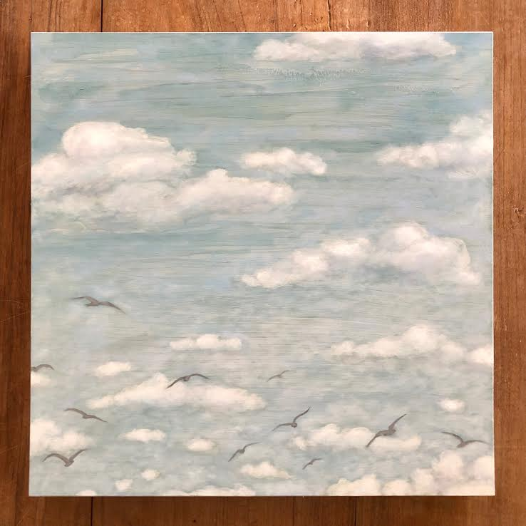 "IN FLIGHT 16"" x 16"""