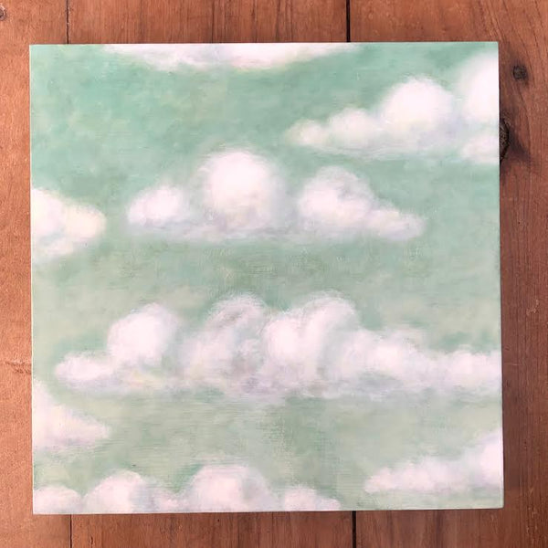 "GREEN CLOUDS 12"" X 12"""
