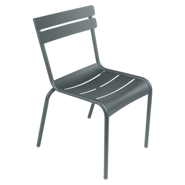 LUXEMBOURG STEEL SIDE CHAIR SET of 4