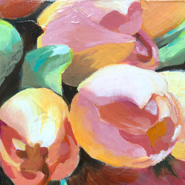 "BUNCH OF TULIPS 6"" X 6"""