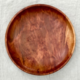 EVERGREEN PEAR WOODEN BOWL 14""