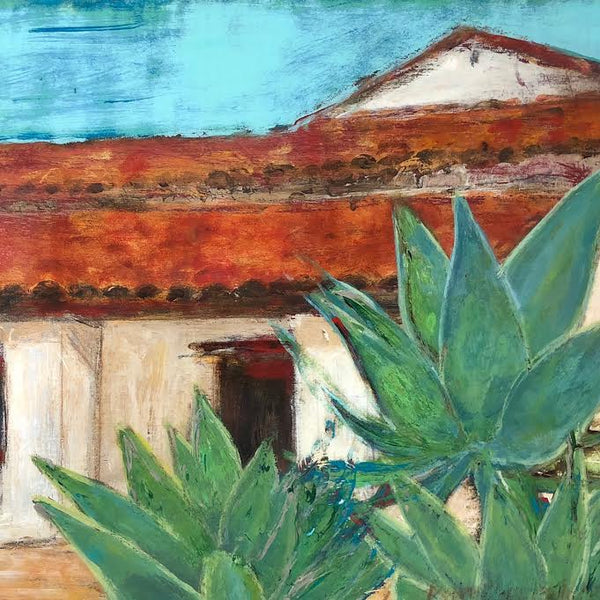 "GREEN AGAVE 8""X10"""