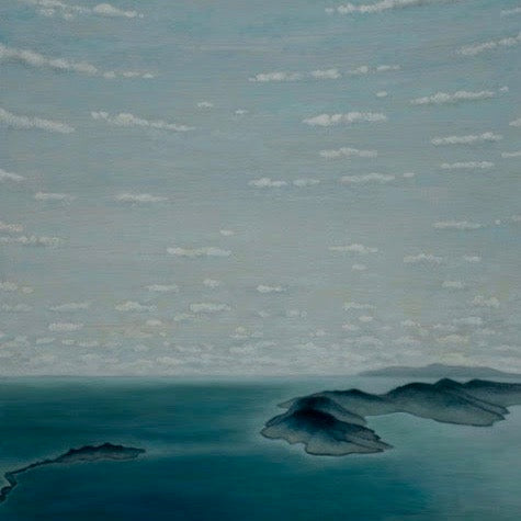 "ABOVE THE CHANNEL ISLANDS 30"" X 40"""