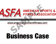 ASFA® Sample Business Case