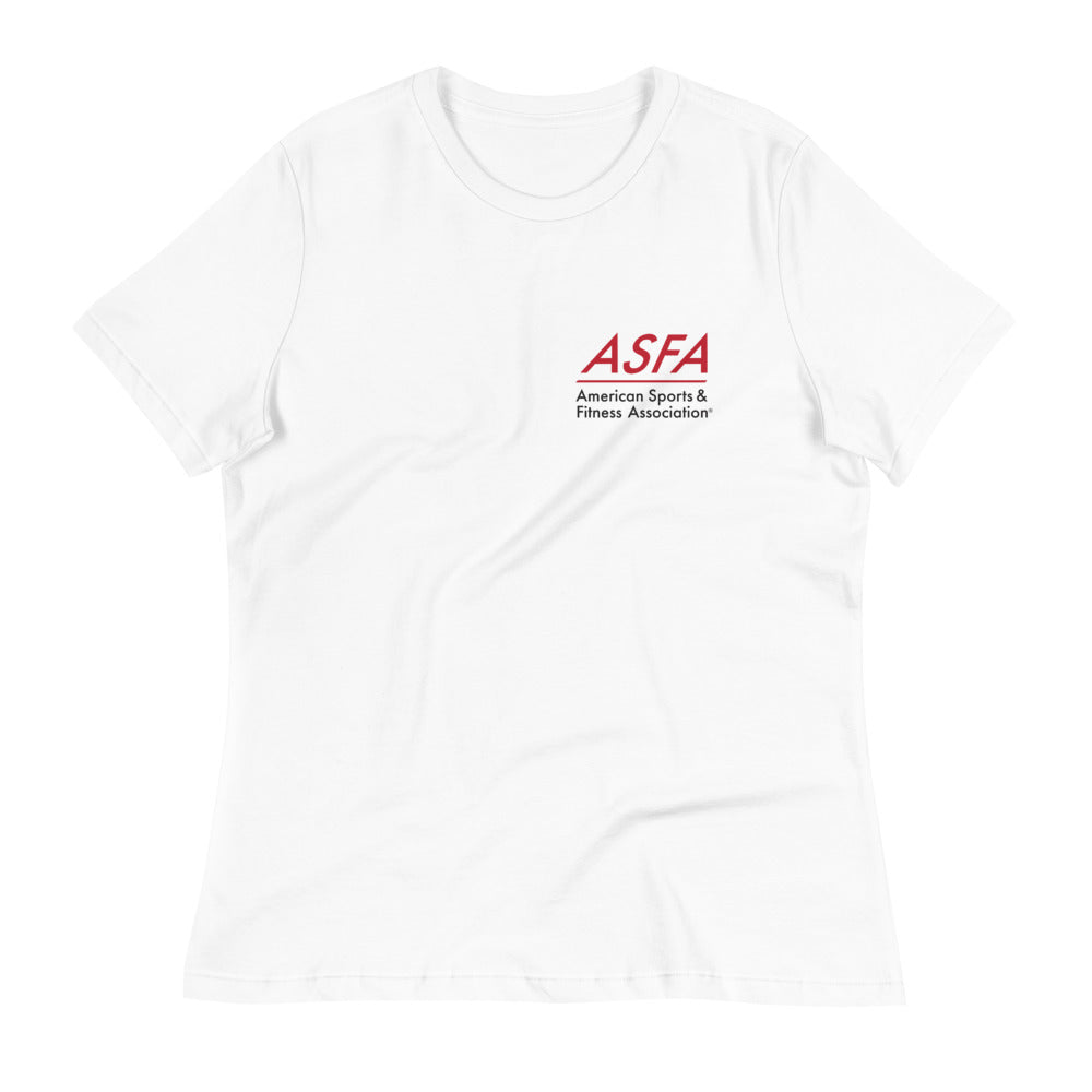 Women's Relaxed T-Shirt (White)