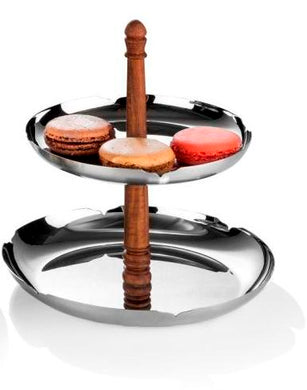 Arttdinox Pink City Collection Two Tier Platter