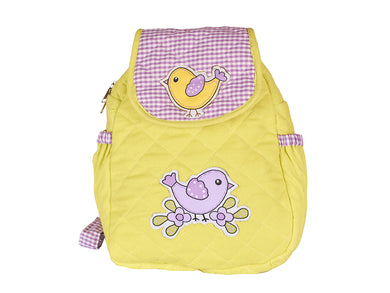 Chirping birds junior School Bag