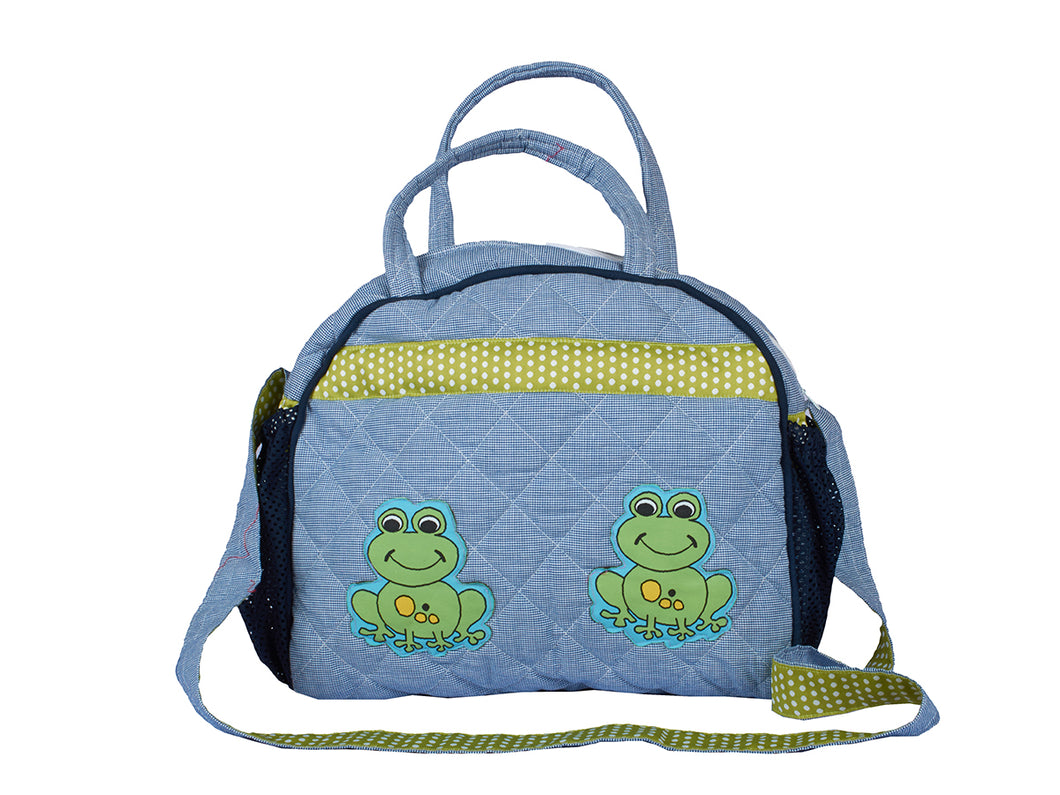 Frog Lunch Bag with Sling