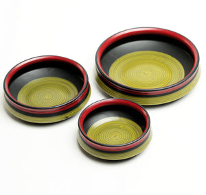 Prismatic Urli Serving Bowls - Set of 3