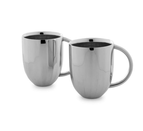 Arttdinox Dome Coffee Mug  (Set Of 2)