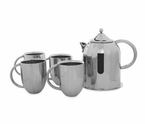Arttdinox Dome Coffee Pot With  Mug