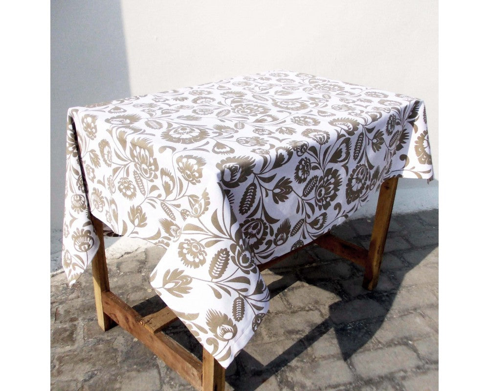 Polska - Table Cover- Beige print