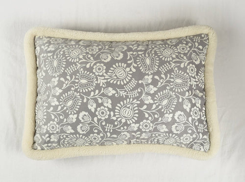 Grey, cushion cover, printed pillow, nordic style, scandinavian pillow, 14X21 inches