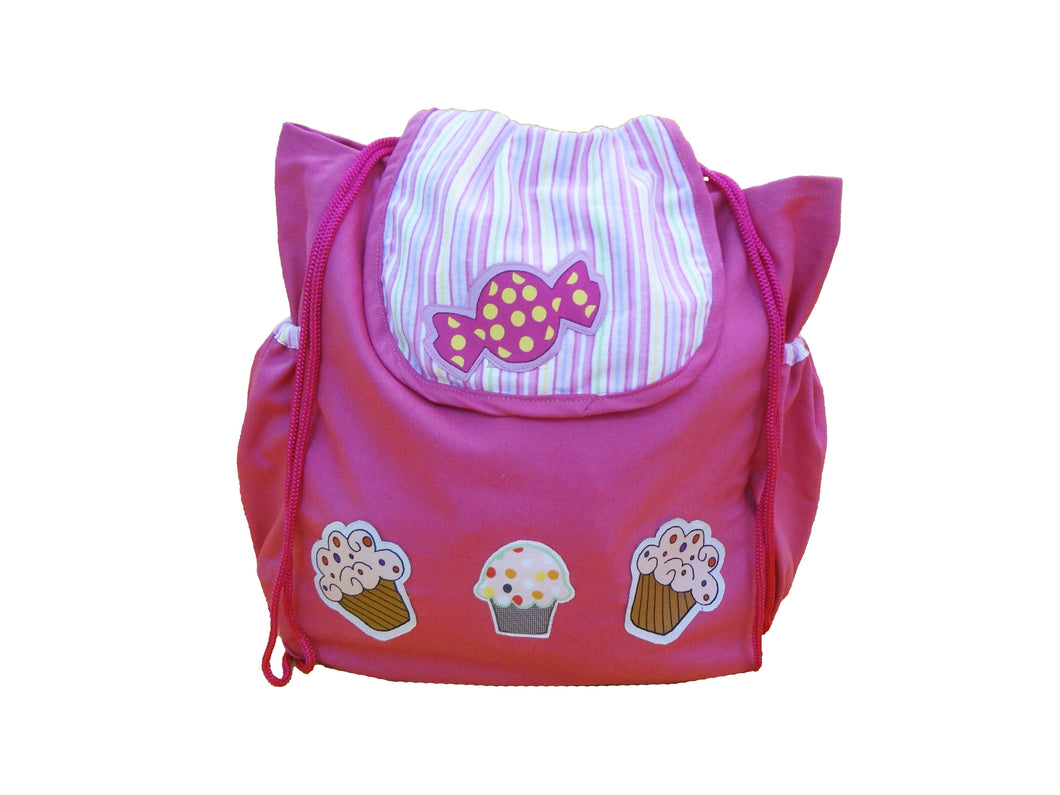 Cup cakes and Candies rucksack