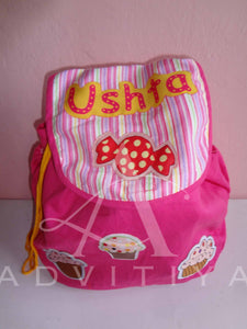 flap rucksack personalized