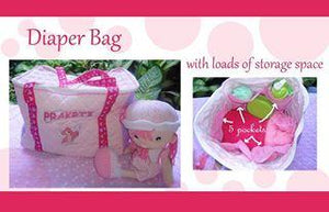 diapper bag- box type