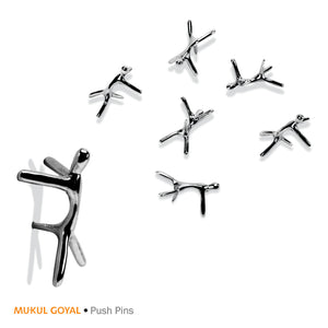Push pins by Mukul Goyal on Zaarga - Pins for your soft pin boards.